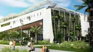 Les Futurs Thermes de Balaruc-les-Bains : Vidéo 3D