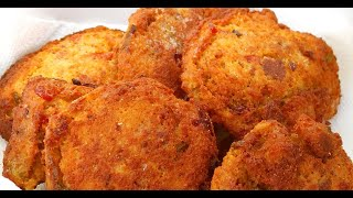 Cornbread Dressing Fritters, A Southern Fried Delicacy