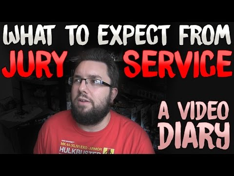 What To Expect From Jury Service? | Video Diary