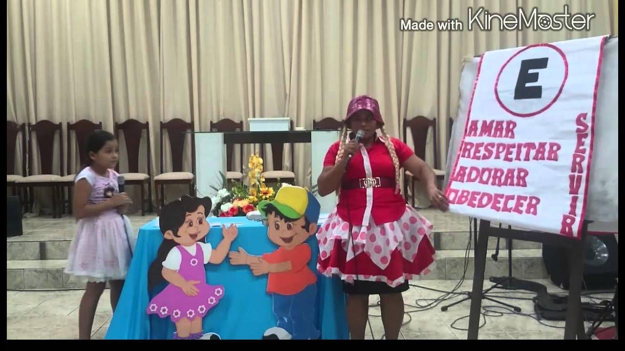 IADEVIB,Culto de criança, pregação da palavra de Deus