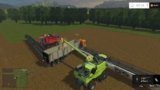 Farm Sim Saturday....Big fields Big equipment