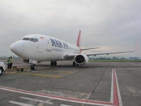 Penerbangan Perdana NAM Air Yogya-Denpasar dari Bandara Adisucipto Yogyakarta