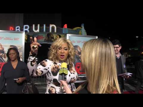 Kym E. Whitley at Fist Fight Premiere