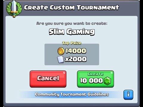 10,000 Gem Tournament !! - Sub/Like for Password
