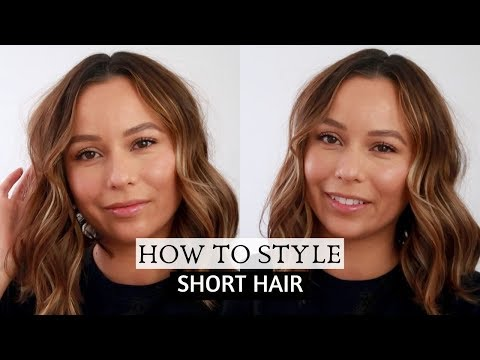 How I Style My Short Hair | Easy Step By Step