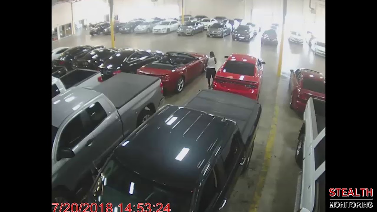 Car Stolen from Dealership in Broad Daylight