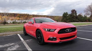 Stock vs Bama Tuned-2015 Mustang Ecoboost Review!