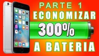 iPhone iOS 10 Economizar Bateria: Dicas e Truques Secretos (PARTE 1) ✔️
