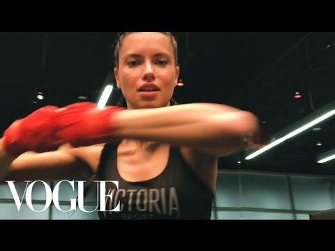 Adriana Lima's 5 Moves to a Runway Ready Body | Vogue
