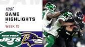 Jets vs. Ravens Week 15 Highlights   NFL 2019