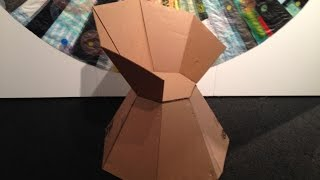 Out Of The Box -  Recycling Cardboard Box - Instructors: Negar Kalantar+alireza Borhani