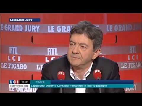 """Jean-Luc Mélenchon invité du """"Grand jury"""" sur LCI et RTL"""