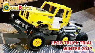 LEGO mini TRUCK TRIAL декабрь 2017[музей GameBrick]
