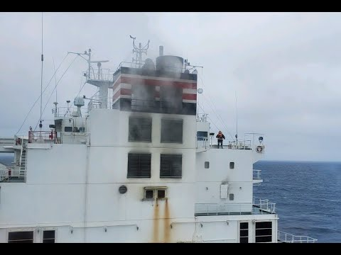 Containership Catches Fire off the Coast of California