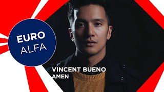 VINCENT BUENO - AMEN | LYRICS | AUSTRIA IN EUROVISION 2021