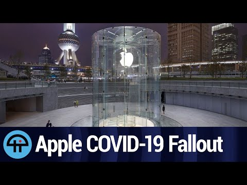 COVID-19 Coronavirus Infects Apple