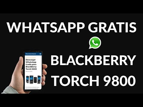 Descargar WhatsApp Gratis para BlackBerry Torch 9800