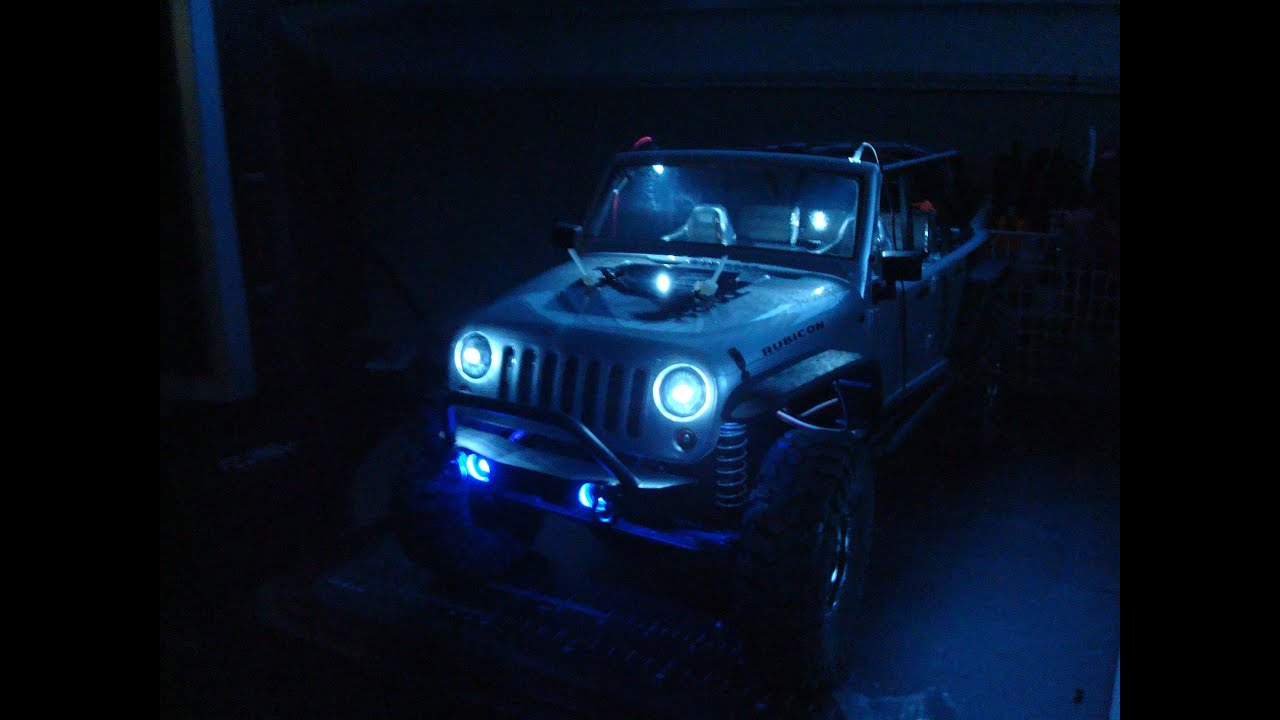 Axial Scx10 Quot 2012 Jeep Wrangler Unlimited Rubicon Quot Led