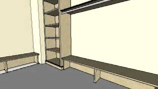 closet drawing