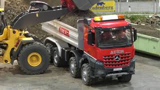 RC Truck Action! Trucks & Construction Fun on a amazing Parcours @ Messe Graz 2018