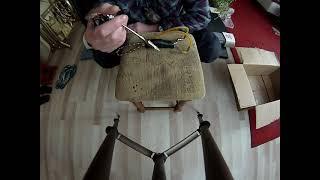 катушка для рыбалки с рогаткой 2 часть готовая