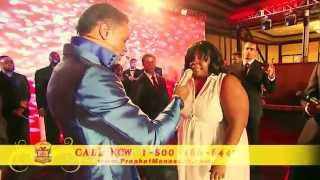 Manasseh Jordan - Healing and Prophetic anointing falls on Lady