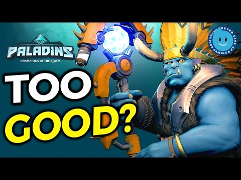 GROHKIN' OUT! Grohk Paladins Totemic Ward Gameplay and Loadout!
