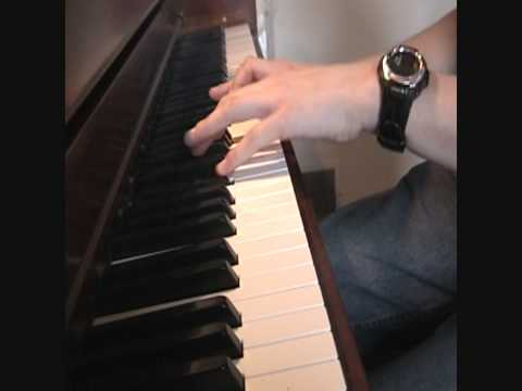 Eternal Father Strong to Save (Navy Hymn) on piano