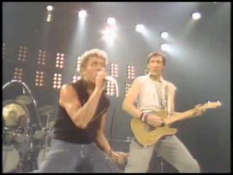 THE WHO --  Won't Get Fooled Again+Reprise.wmv  -- Toronto 12-17-82