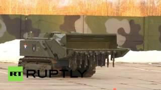 Роботы-саперы «Уран-6» готовы к отправке в Пальмиру