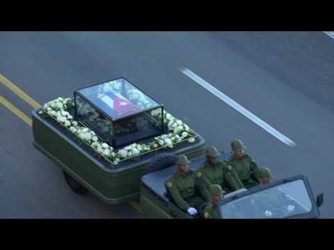 Fidel Castro's ashes leave Havana