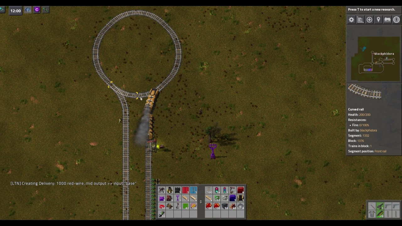Factorio Logistical Train Network Smarter Depot Tutorial by BlackPhidora