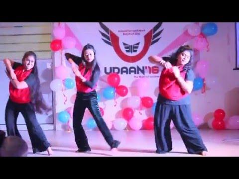 FAREWELL DANCE ON BOLLYWOOD SONGS (deewani mastani,manwa lage,chammak challo,pinga,cham cham)
