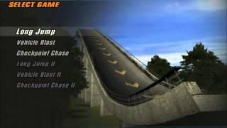 Crashday gameplay long jump