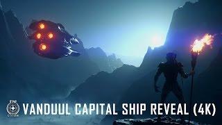 """Star Citizen: Vanduul """"Driller"""" Capital Ship Reveal 4K"""