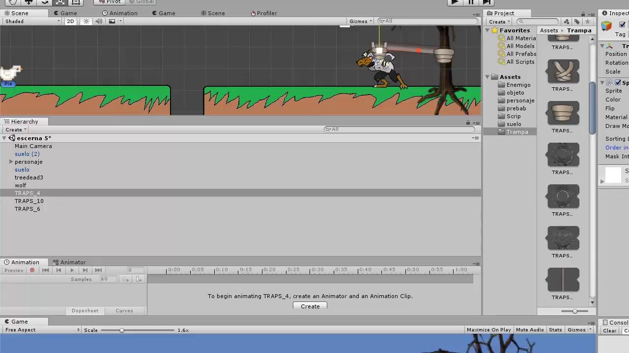 Unity 2d Disparo Como Crear Nuestro Primer Juego Parte 5 Youtube