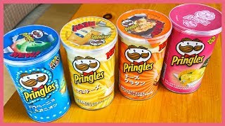4 Unique Pringles Flavours from Japan