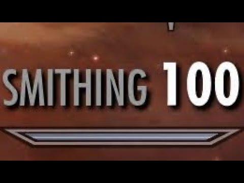 Level 100 Smithing Easy (Skyrim)