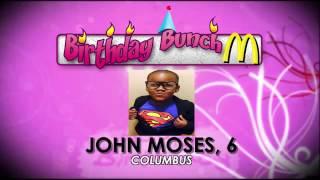 Birthday Bunch- September 2, 2016