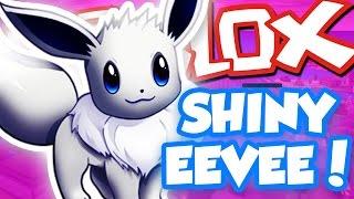 WIE SHINY EEVEE ZU GET!! (Handel) / Roblox Abenteuer / Pokemon Ziegel Bronze