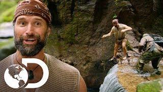 ¡A saltar en aguas desconocidas! | Desafío x 2 | Discovery Latinoamérica