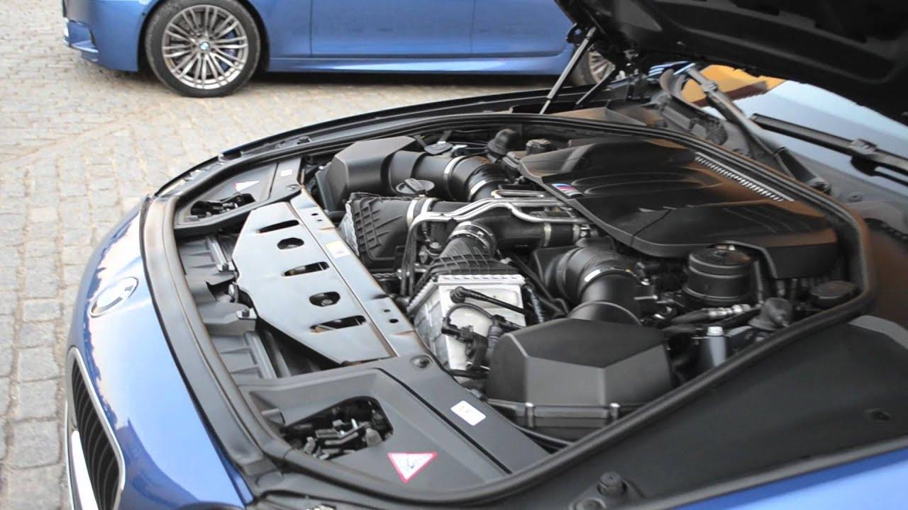 F10 Bmw M5 Engine Bay Youtube
