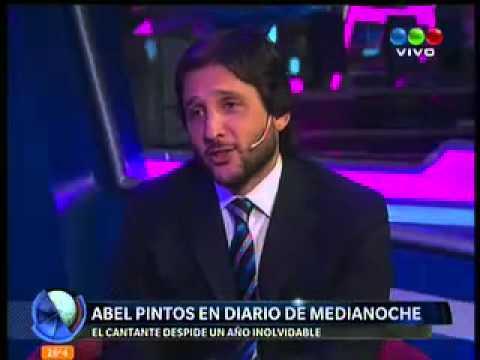Abel Pintos en diario de medianoche 21/12/2013 parte I