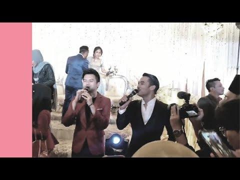 Hael Husaini & Azhar Bikin Gamat Majlis Kahwin