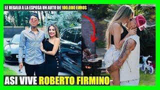 ASI VIVE ROBERTO FIRMINO CON SU HERMOSA ESPOSA Y SUS HIJAS E...
