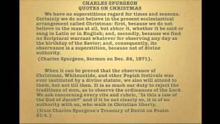 The Abominable Pagan Mass of Christ aka Christmas - Eric Jon Phelps - Part 1