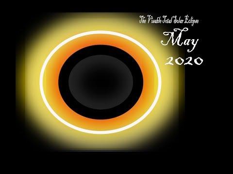 The Visable Total Solar Eclipse 2020