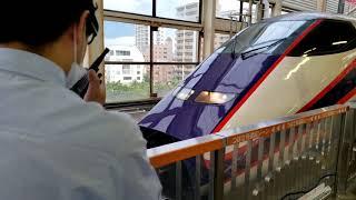 JR福島駅 つばさ上り 連結