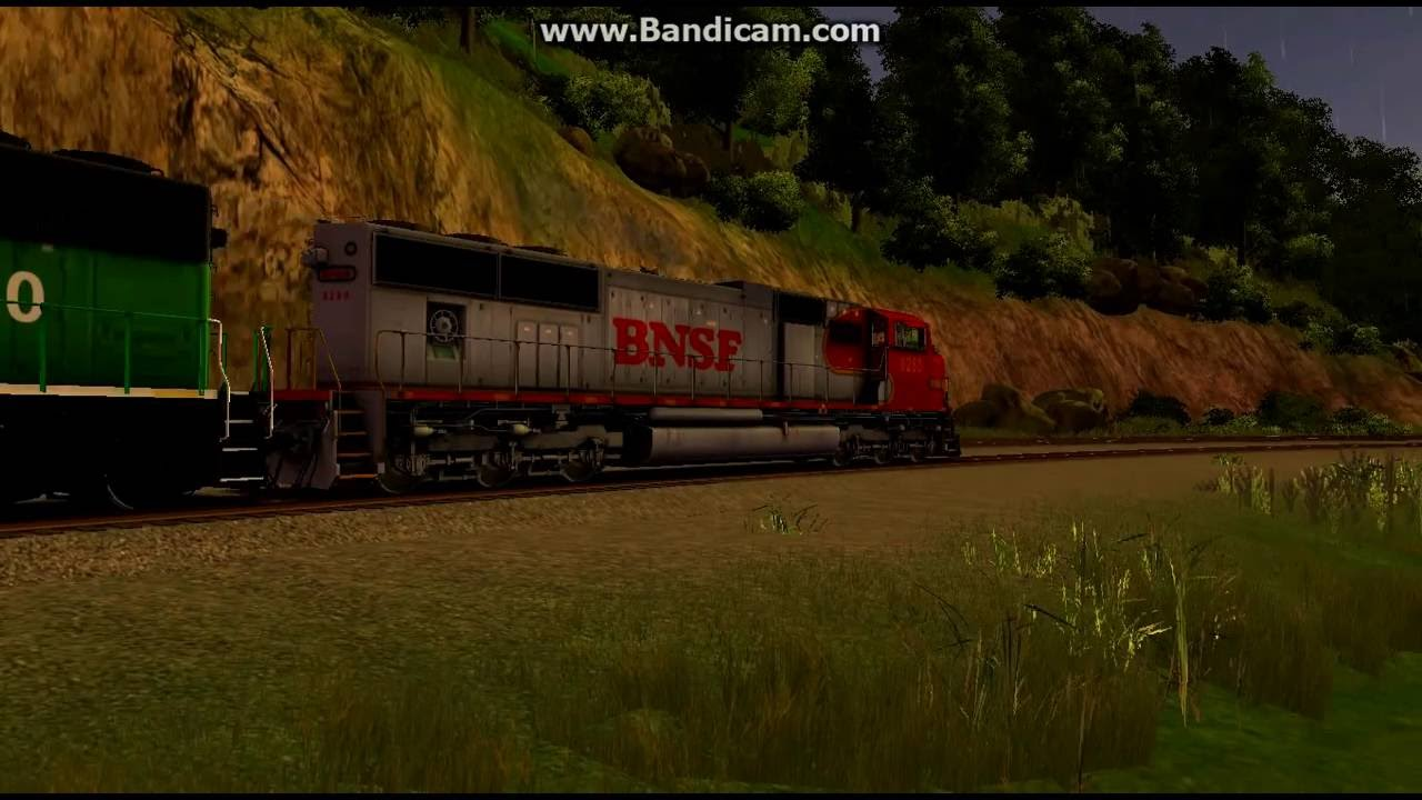 Trainz 12 BNSF Freight Over Horseshoe Curve