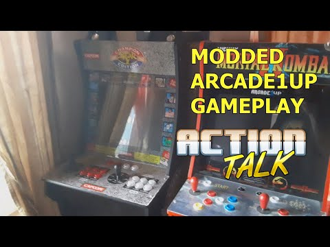 Modded Arcade1Up Gameplay from Action Talk